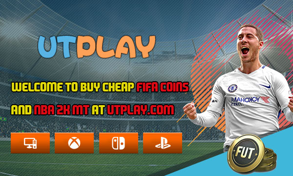 Welcome to buy cheap FIFA coins and NBA 2K MT at UTPLAY.com