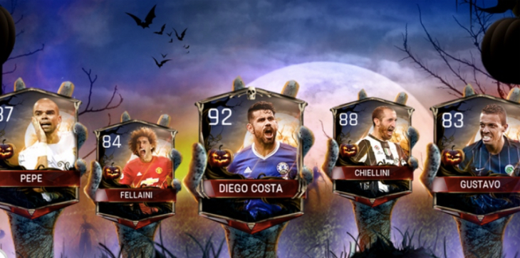 FIFA 17 - FIFA Mobile Scream Team Halloween - Halloween Players Cards