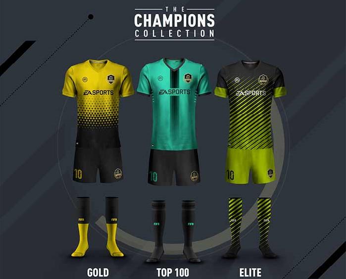 227845de5 FIFA 17 FUT Champions Monthly Rewards - Champions Kits & Champions ...