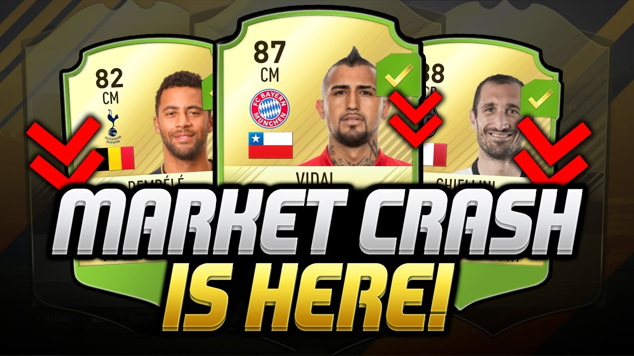 FIFA 17 Market Crash Guide -Help You Do Best Investment