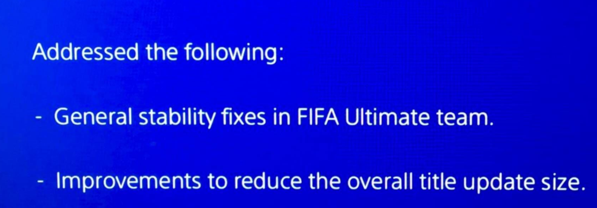 FIFA 17 Title Update 4 - Version 1.04 Patch