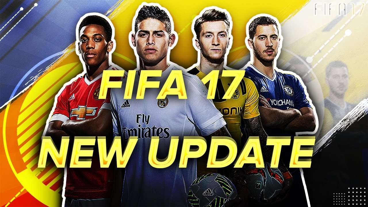 FIFA 17 Title Update 4 - Version 1.05 Patch Notes