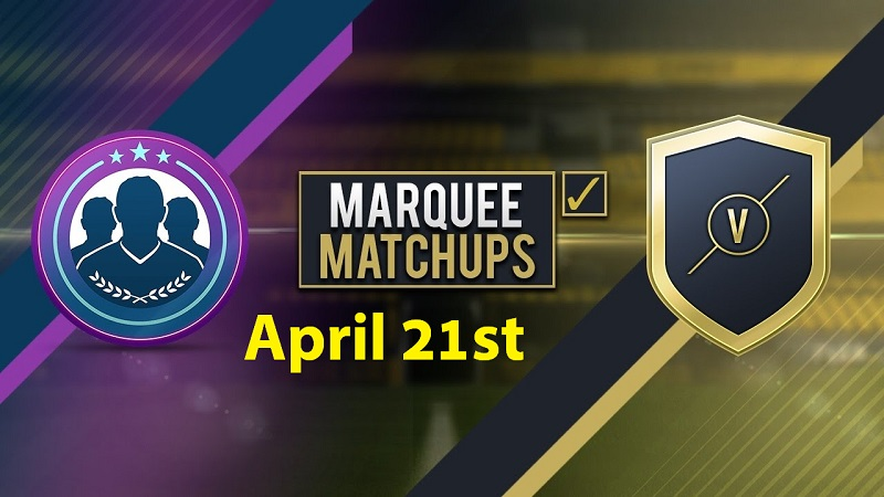 FIFA 17 Marquee Matchups SBC Predictions 21st April